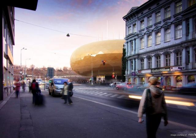 Горсовет Праги одобрил строительство «Золотого яйца»