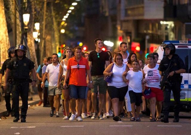 Второй теракт в Каталонии: полиция уничтожила 5 нападавших