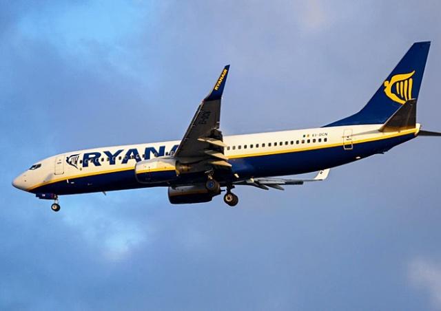 Ryanair откроет новое направление из Брно
