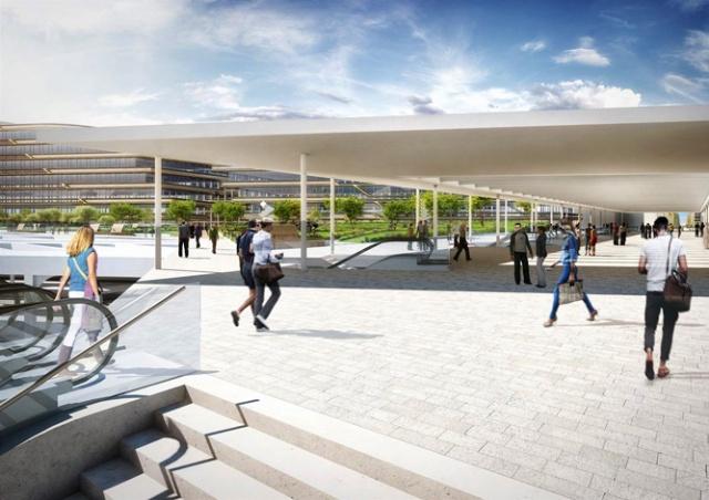 Архитекторы показали, как изменится вокзал Масарика в Праге