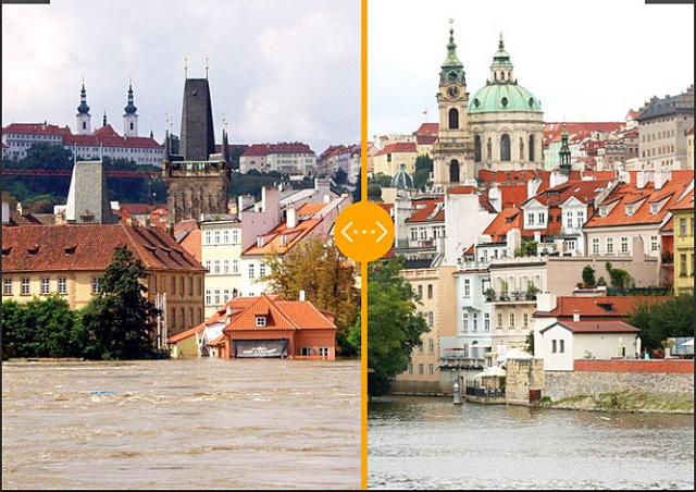 Фотопроект: как выглядела затопленная Чехия 15 лет назад