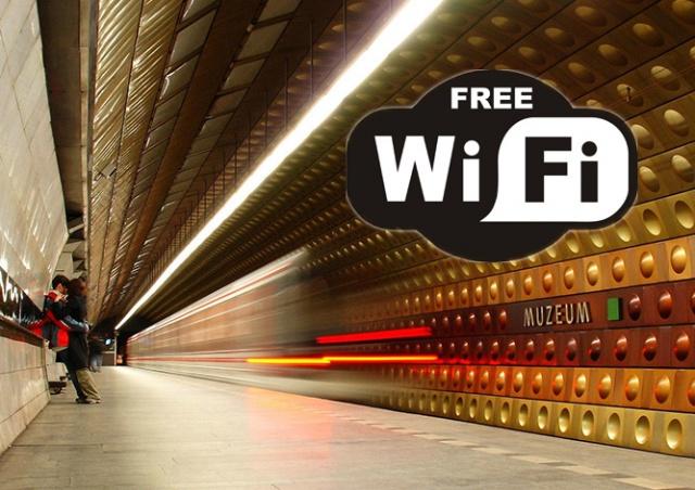 В пражском метро появится бесплатный Wi-Fi