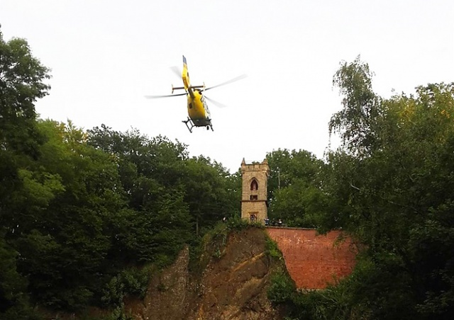 В Чехии обнимавшаяся пара упала со смотровой площадки