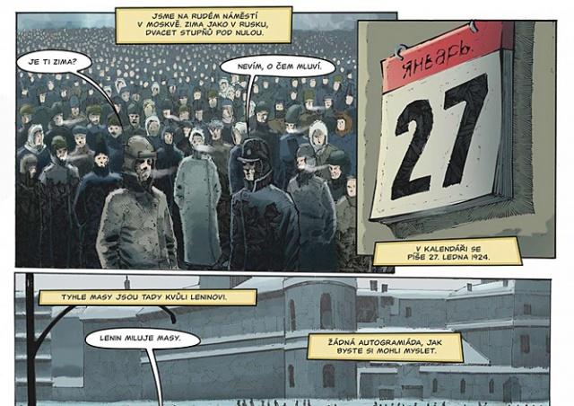 В Чехии выпустили комикс к 100-летию революции в России