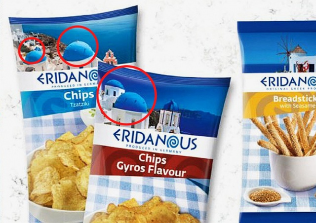 Lidl «удалил» православные кресты с упаковок греческих продуктов