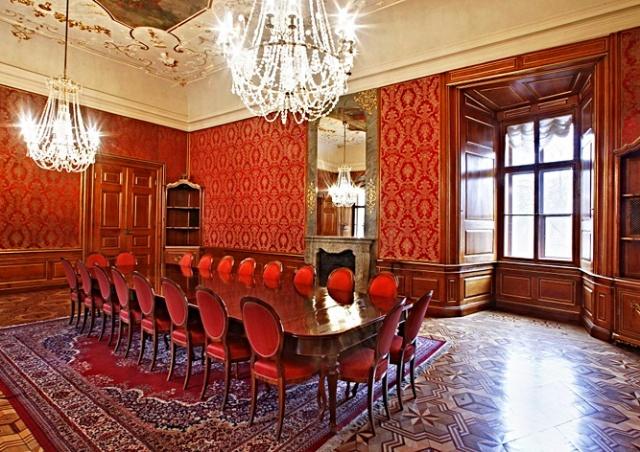 День открытых дверей в роскошном дворце Минкульта в Праге