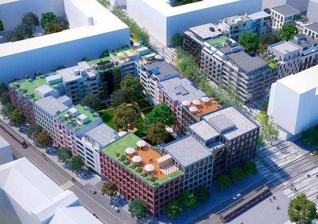 В Праге построят новый жилой квартал Smíchov City