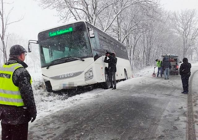 В Чехии разбился рейсовый автобус: 1 погибший, 12 пострадавших