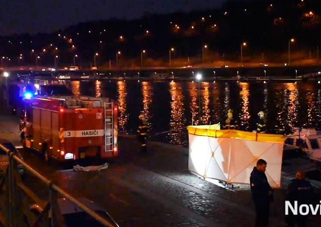 В центре Праги из реки выловили труп человека