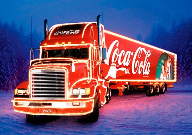 В Прагу приедет рождественский грузовик Coca-Cola