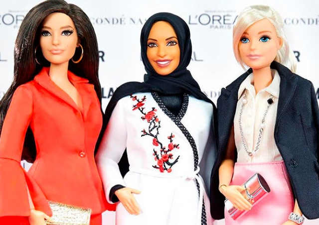 Производитель Барби впервые выпустит куклу в хиджабе