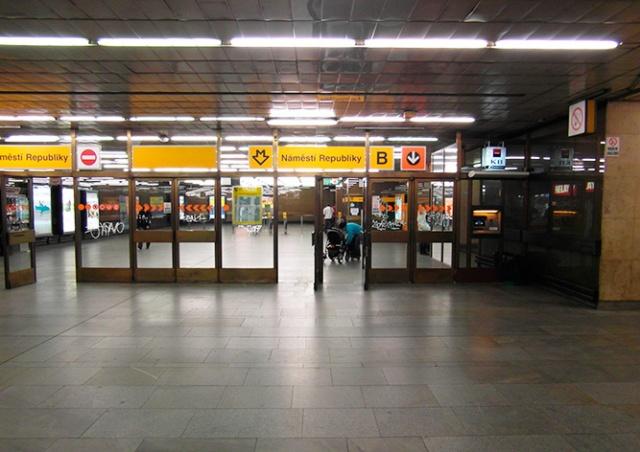 Реконструкцию станции метро Náměstí Republiky отложили
