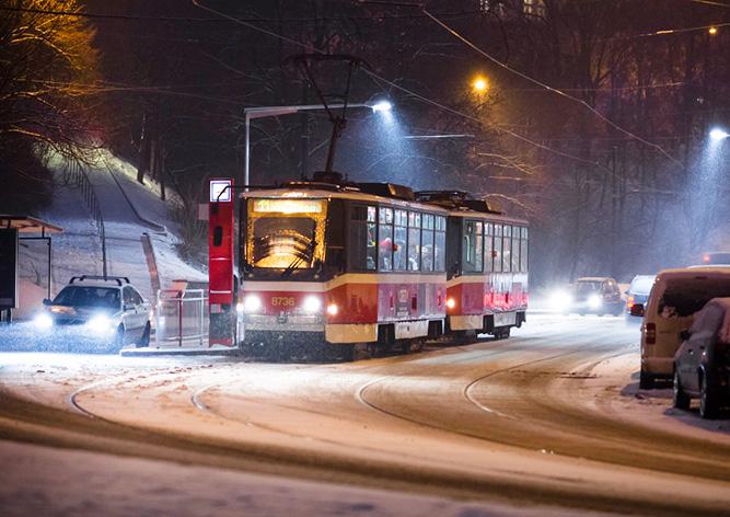 В связи с предрождественской суетой Прага усилит работу общественного транспорта