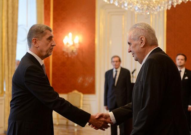 Андрей Бабиш стал новым премьер-министром Чехии