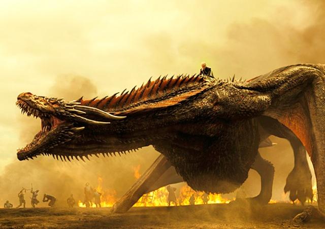 Дракона из «Игры престолов» озвучили совокупляющиеся черепахи