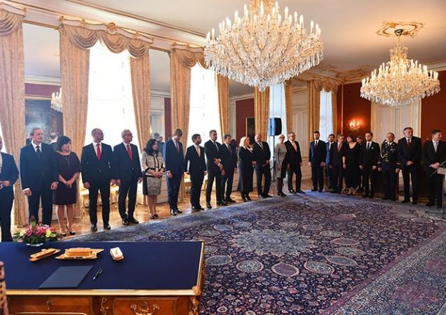 Президент Чехии назначил новое правительство страны