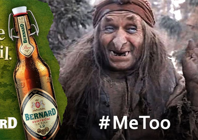 Чешский пивзавод использовал образ Бабы-яги для странной рекламы