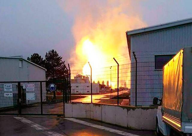 Взрыв в Австрии оставил европейцев без российского газа