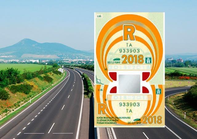 В Чехии начались продажи годовых дорожных виньеток на 2018 год