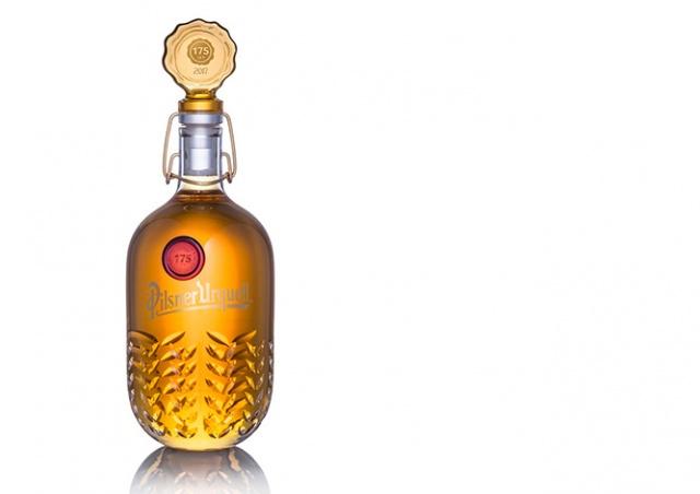 Десять уникальных бутылок Pilsner Urquell уйдут с молотка