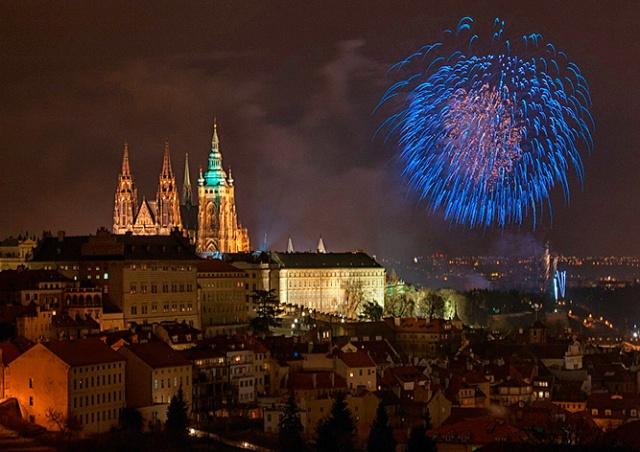 Чешские синоптики рассказали о погоде в новогоднюю ночь