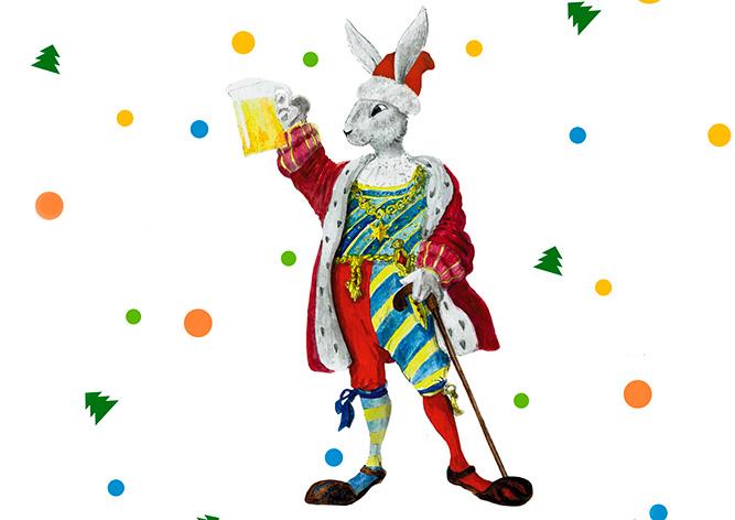 Новогодняя программа «У Зайца» в сказочном городке Киншперк-над-Огржи