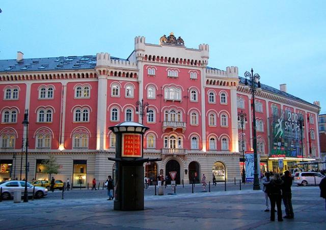 В Праге эвакуировали торговый центр «Палладиум»: видео