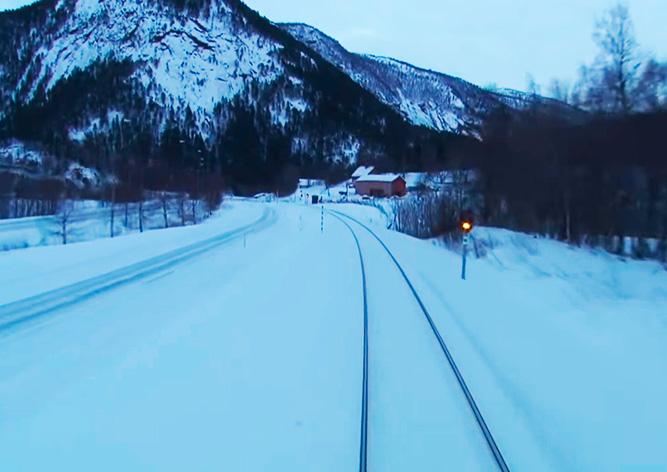 «Вид из кабины машиниста»: канал с завораживающими видео из разных стран