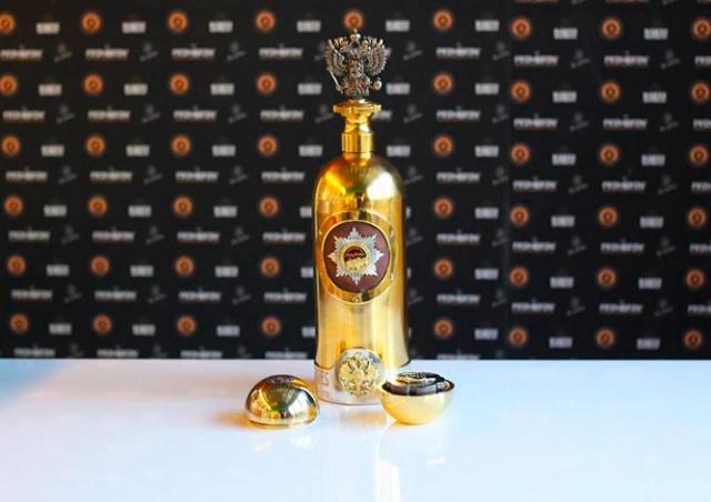 Украденную в Дании бутылку водки за 1 млн евро нашли пустой