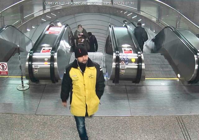 Полиция Праги разыскивает насильника: видео