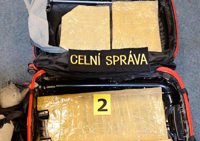В аэропорту Праги задержали иностранца с 3 кг кокаина