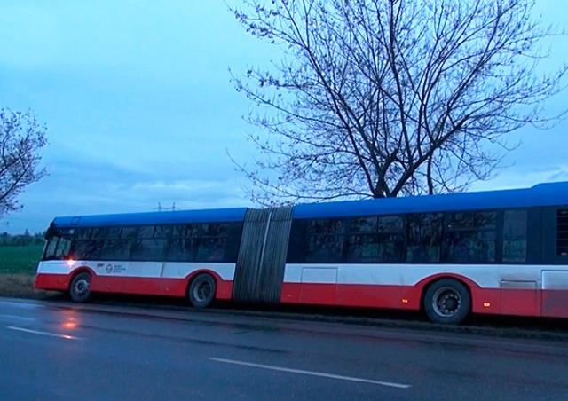 Под Прагой произошло еще одно ДТП с автобусом