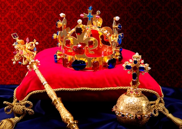 Бесплатная выставка чешских коронационных регалий в Пражском Граде