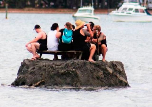 Новозеландцы ради возможности выпить в Новый год построили остров
