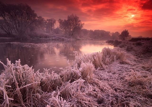 Чехия пережила самую холодную ночь года