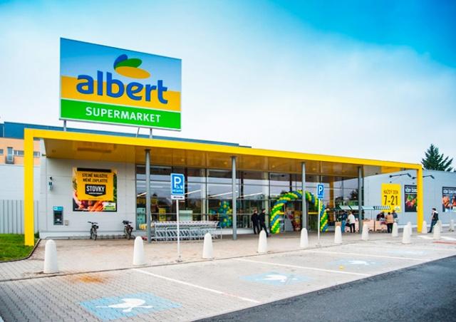 В пражских магазинах Albert  задержали 18 иностранцев