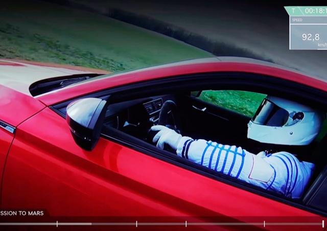 Чешский ответ Маску: красная Škoda добралась до Марса
