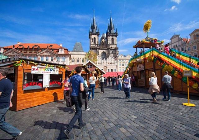 Пасхальные ярмарки в Праге: где и когда