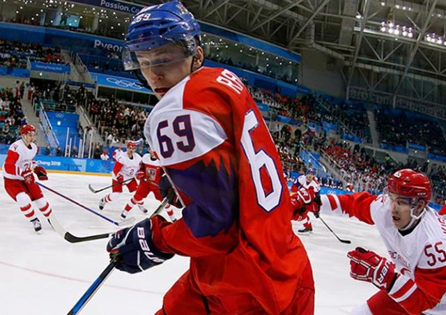 Россия обыграла Чехию и вышла в финал хоккейного турнира Олимпиады
