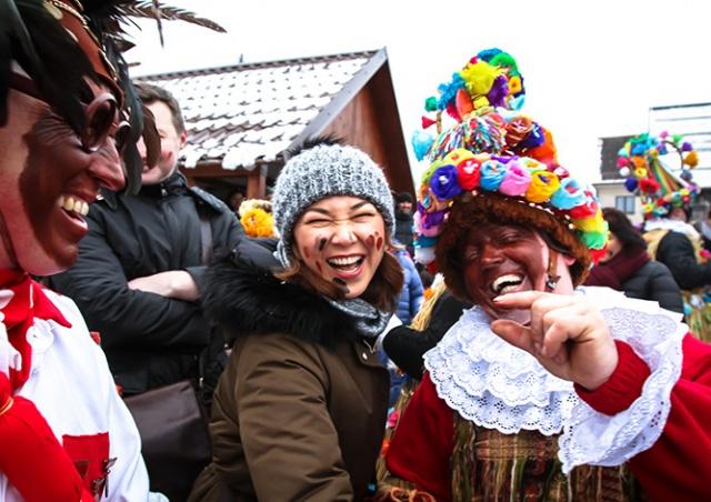Традиционная чешская масленица в деревне Студнице: как это было