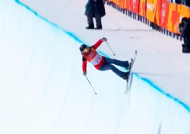 Курьез на Олимпиаде: лыжница-любитель не сделала ни одного трюка