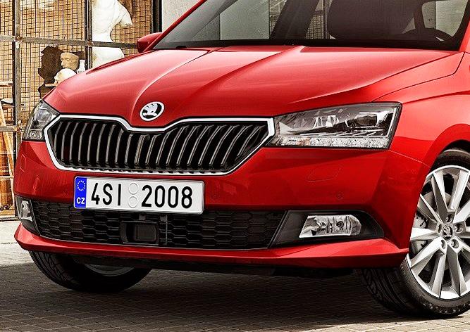 Škoda представила обновленную Fabia