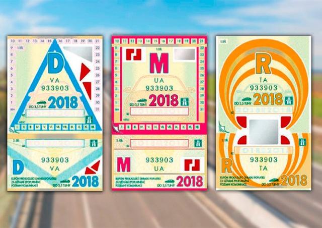 Чехия откажется от бумажных дорожных виньеток