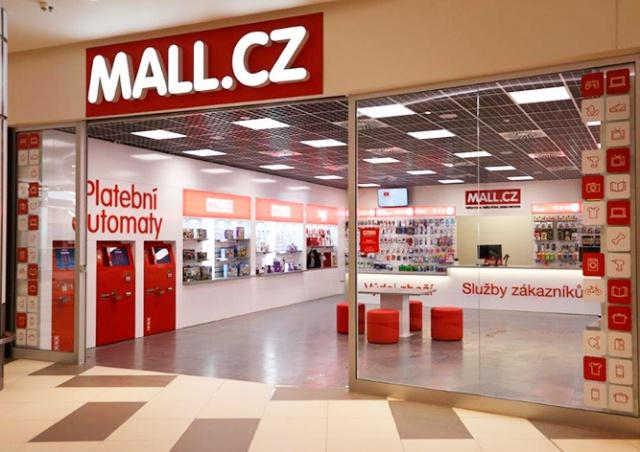 В Праге открылся первый офлайн-магазин Mall.cz
