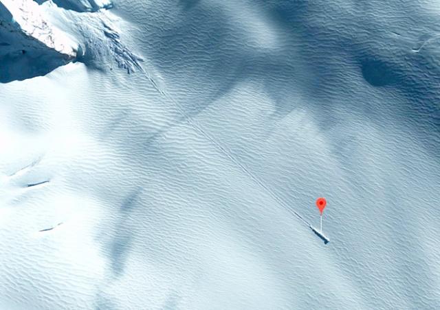 Уфологи нашли на картах Google разбившийся «корабль пришельцев»