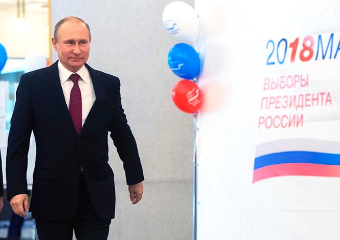 Путин победил на выборах президента РФ с рекордным результатом