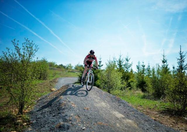 В Праге открылся первый комплекс трасс для горных велосипедов