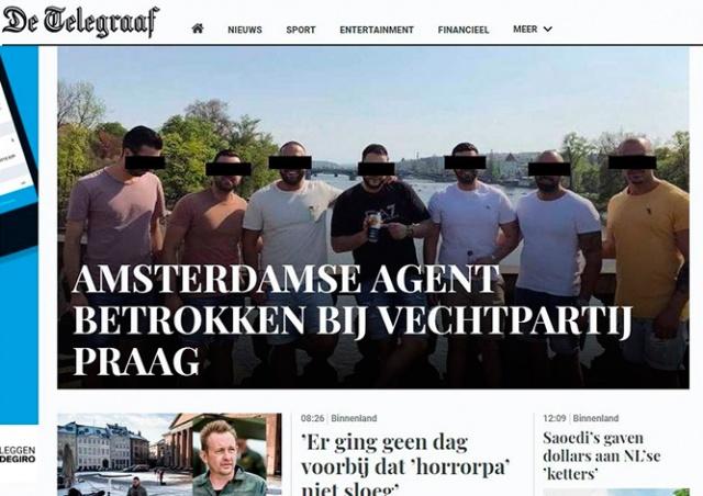 Стали известны подробности о туристах, избивших официанта в Праге