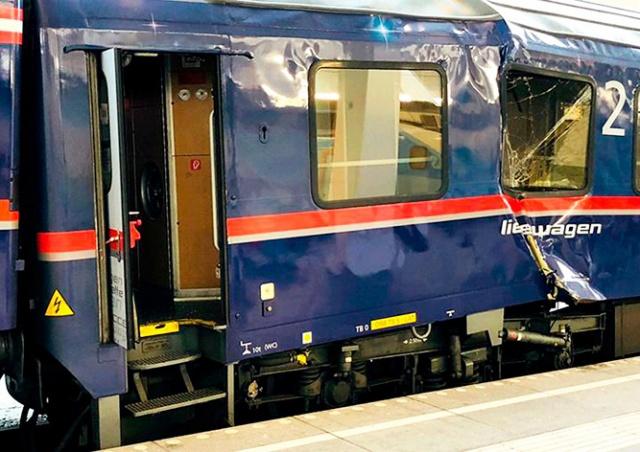На вокзале в Зальцбурге столкнулись два поезда: более 50 пострадавших