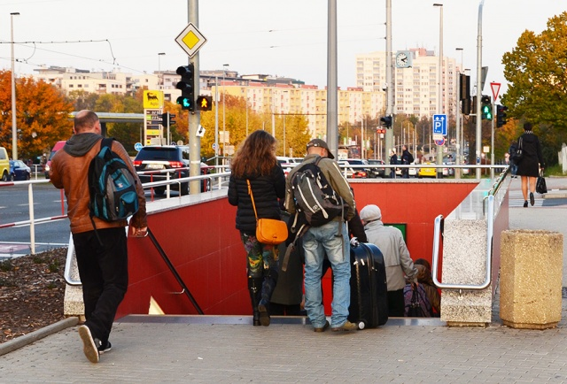 Эскалаторы на критикуемой станции Nádraží Veleslavín запустят в пятницу 13-го
